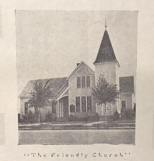first church building for FPC