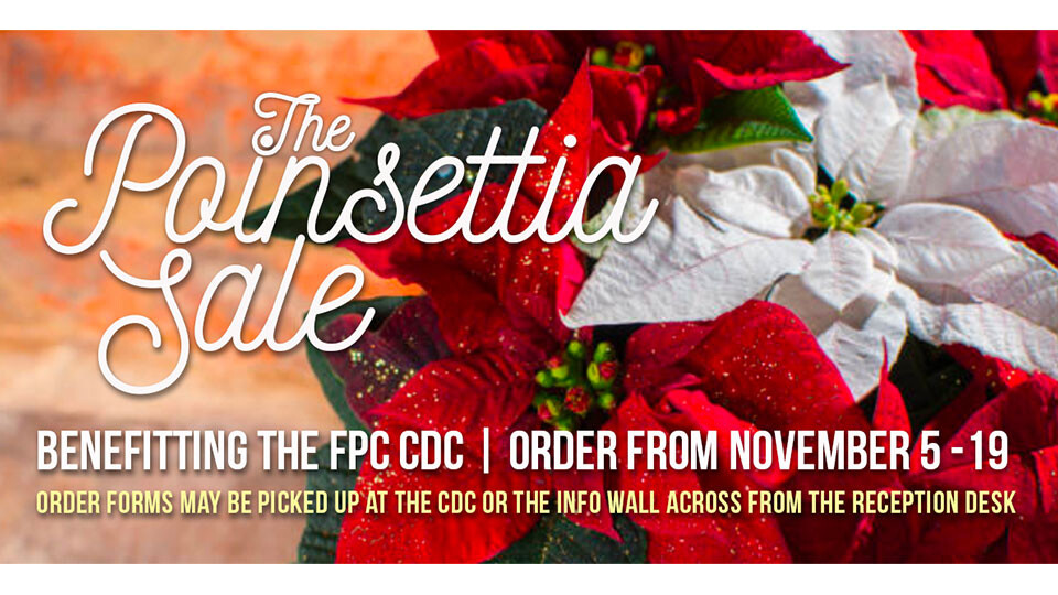 CDC Poinsettia Sale