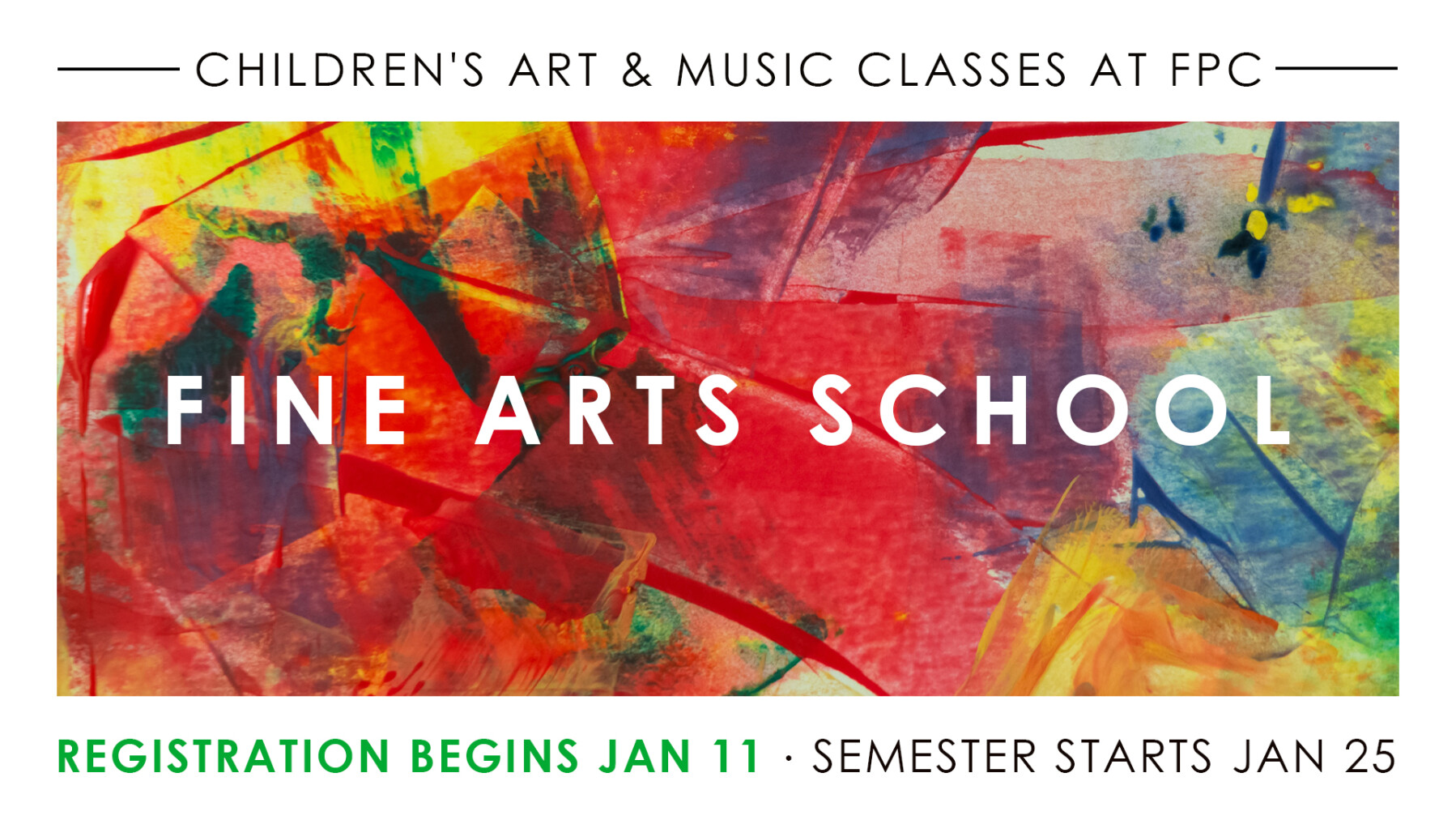 Fine Arts School Registration