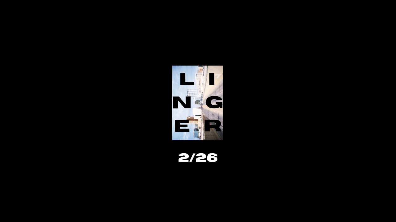 Linger: Student Ministries Conference